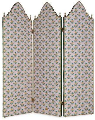 Gucci Pineapple three panel screen