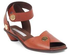 Stella McCartney Snapped Faux-Leather Sandals