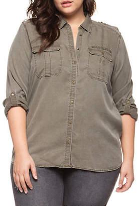 Dex Plus Roll-Up Sleeve Shirt