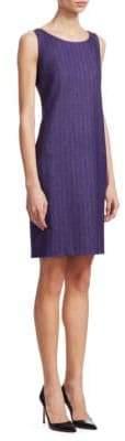 Akris Herringbone Sheath Dress