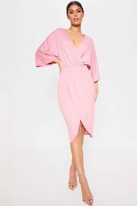 265a7c3ead1 Next Womens PrettyLittleThing Kimono Wrap Dress