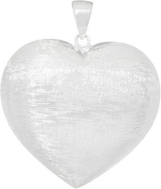 Ultrafine UltraFine Silver Reversible Heart Pendant 8.8g
