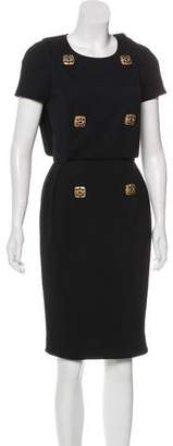 Chanel Paris-Byzance Wool Dress