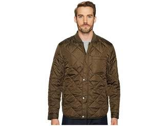 Cole Haan Transitional Quilted Nylon Jacket with Rib Knit Collar Men's Coat