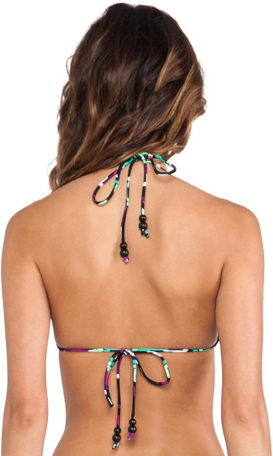 Shoshanna Triangle Bikini Top