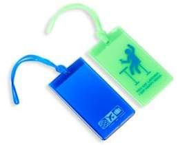 Flight 001 Set Of Two Happy Hour Luggage Tags