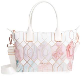 Ted Baker Shelbee Sea of Clouds Small Nylon Tote