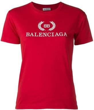 Balenciaga BB printed T-shirt