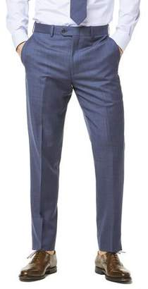 Todd Snyder White Label Sutton Stretch Tropical Wool Suit Trouser In Petrol Blue
