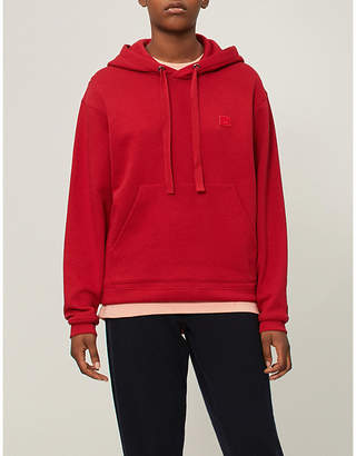 Acne Studios Ferris Face logo-patch cotton-jersey hoody