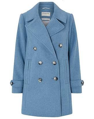 Irregular Choice Monsoon Ashley Double Breasted Pea Coat