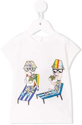Dolce & Gabbana designer print T-shirt