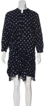 Ulla Johnson Embroidered Long Sleeve Mini Dress