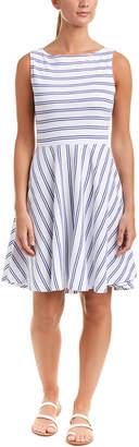 Three Dots Stripe A-Line Dress