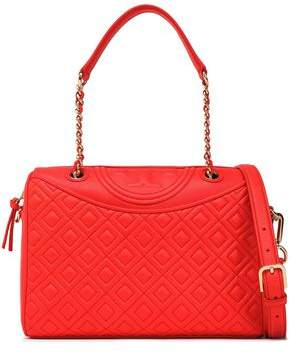 Tory Burch Fleming Quilted Leather Shoulder Bag