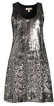 MICHAEL Michael Kors Women's Sequin Slip Dress