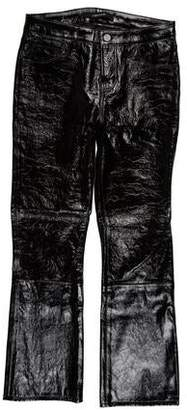 J Brand Mid-Rise Leather Pants w/ Tags