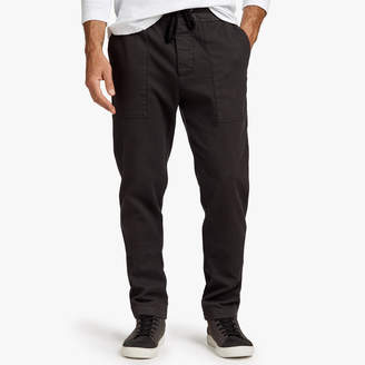 James Perse MICRO COTTON TEXTURED PANT