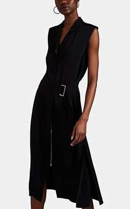 Victoria Beckham Women's Cady Belted Midi-Dress - Black