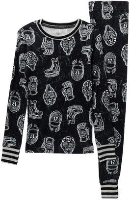 Petit Lem Hockey Pajama Set (Little Boys & Big Boys)