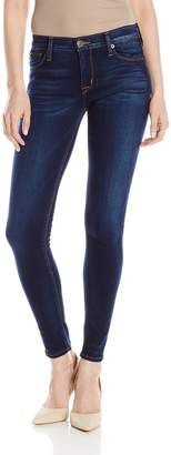Hudson Jeans Women's Nico Midrise Skinny Jean with Recovery
