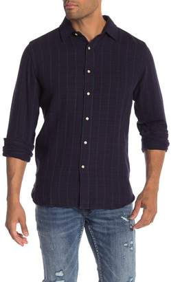 Knowledge Cotton Apparel Loose Twill Checkered Shirt