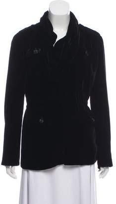 Givenchy Velvet Utility Coat