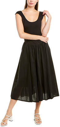 La Vie Rebecca Taylor Voile Midi Dress
