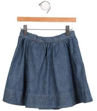 Caramel Baby & Child Girls' Tulle Belted Skirt