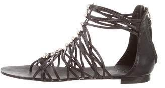 Ash Multistrap Leather Sandals
