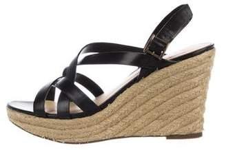 Paul Smith Leather Sandal Wedges