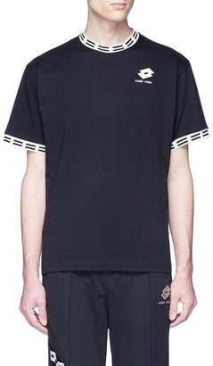 Damir Doma x Lotto 'Tobsy LR' logo embroidered T-shirt