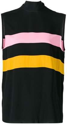 Marni colour-block sleeveless top