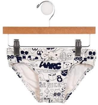 Little Marc Jacobs Girls' Abstract Print Swim Bottom