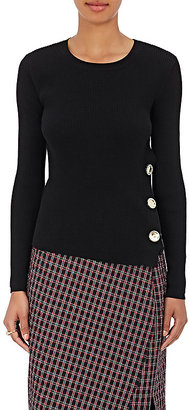 EACH X OTHER Women's Rib-Knit Cotton Sweater $565 thestylecure.com