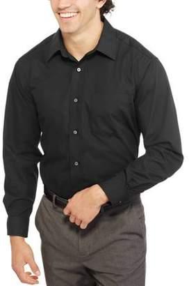 George Big Men's Long Sleeve Poplin Dress Shirt