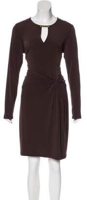 MICHAEL Michael Kors Draped Midi Dress