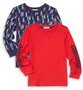 Flapdoodles Little Boy's Set of Two Pullovers
