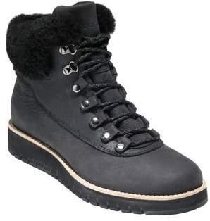 Cole Haan GrandExpl?re Genuine Shearling Trim Waterproof Hiker Boot