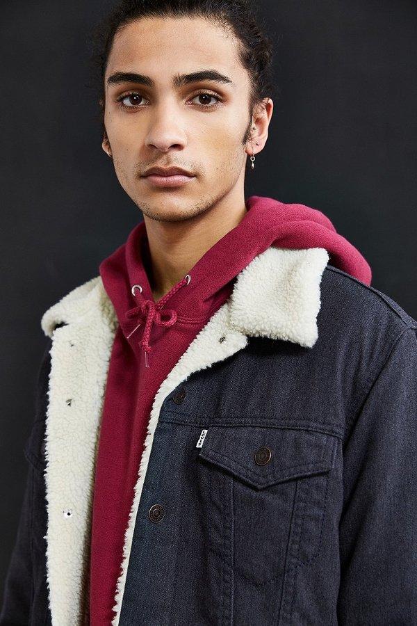 Levi's Levi's Flannel Sherpa Trucker Jacket 3