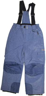 Weatherproof 32 Degrees Boy's Charcoal Zip-Off Suspender Snow Pants (, Small (7/8))