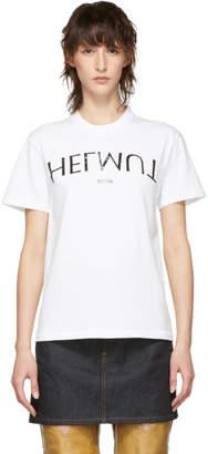 Helmut Lang White Logo Hack Generic T-Shirt
