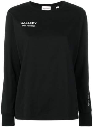 Les Coyotes De Paris logo print sweatshirt