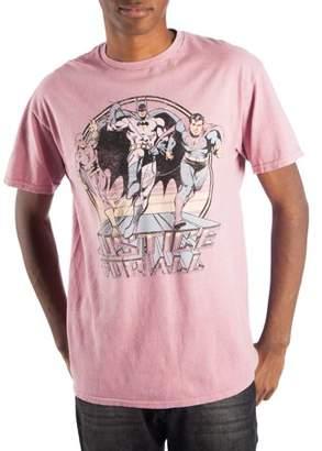 Justice Super Heroes & Villains League Men's Graphic T-shirt