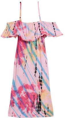 b24a7629c1f4 Flowers by Zoe Tie Dye Cold-Shoulder Dress