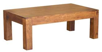 Timbergirl Handcrafted Cube Coffee Table - (16H x 43W x 23.5D) - Natural