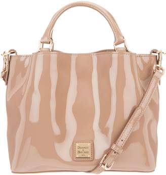 Dooney & Bourke Patent Small Brenna Satchel