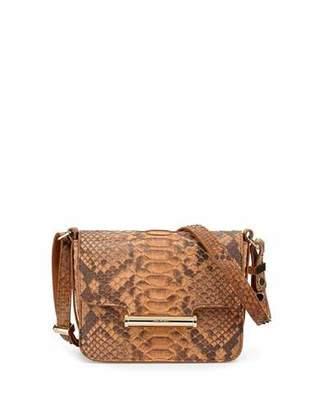 Jason Wu Diane Mini Flap Python Crossbody Bag, Natural $2,725 thestylecure.com