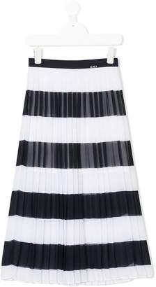 Liu Jo Kids long pleated skirt