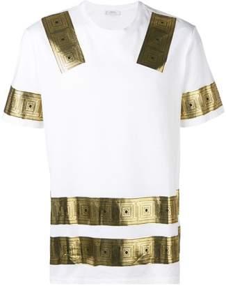 Versace metallic print T-shirt